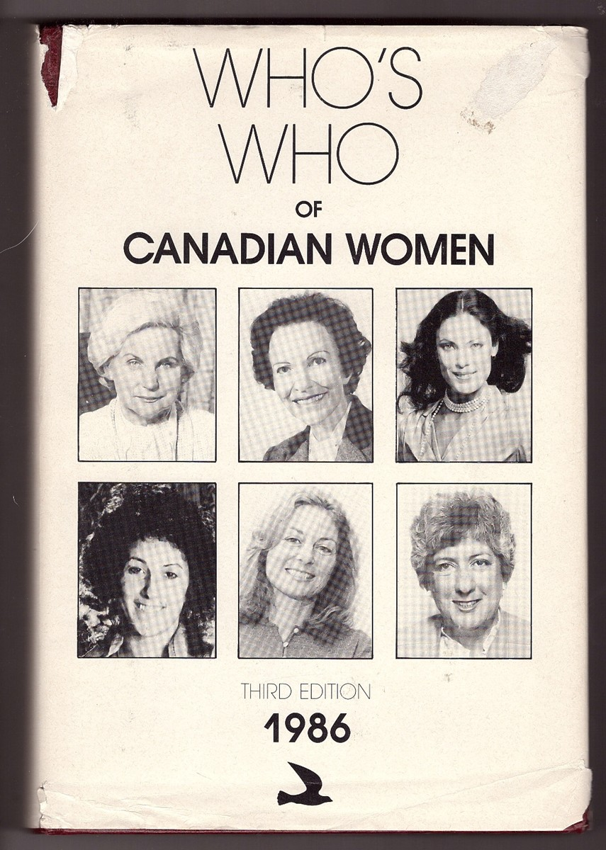 Image for Who's Who of Canadian Women, 1986