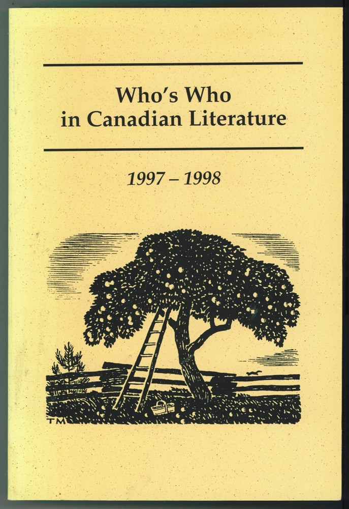 Image for Who's Who in Canadian Literature 1997-1998