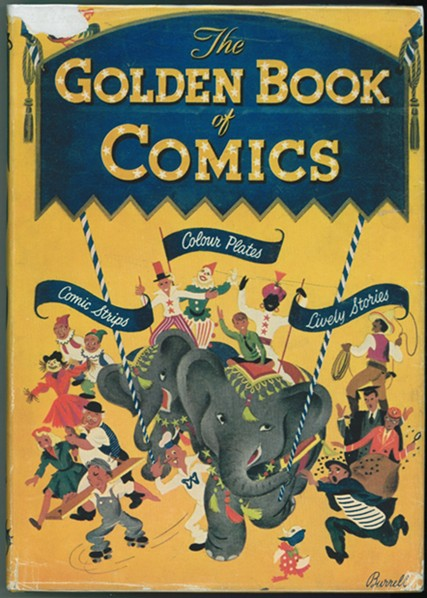 Image for The Golden Book of Comics
