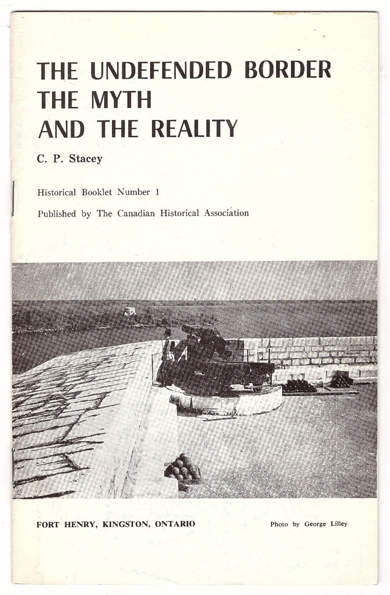 Image for The Undefended Border;  The myth and the reality,