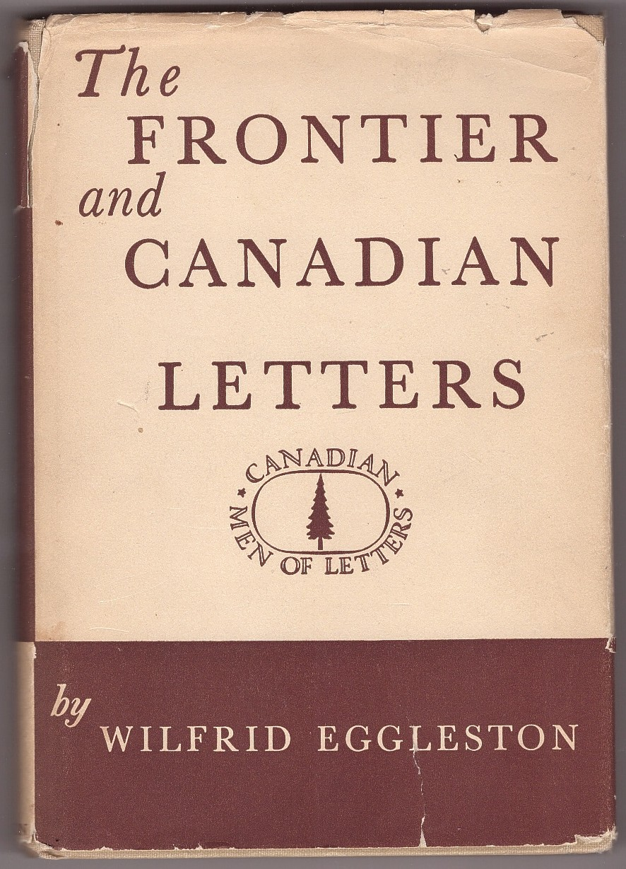 Image for The Frontier and Canadian Letters