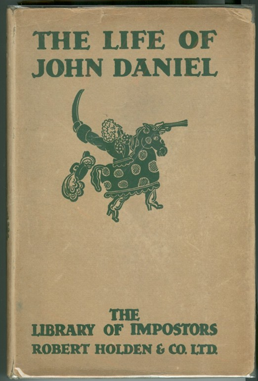Image for THE LIFE AND ASTONISHING ADVENTURES OF JOHN DANIEL; a smith at Royston in Hertfordshire for a course of seventy years...