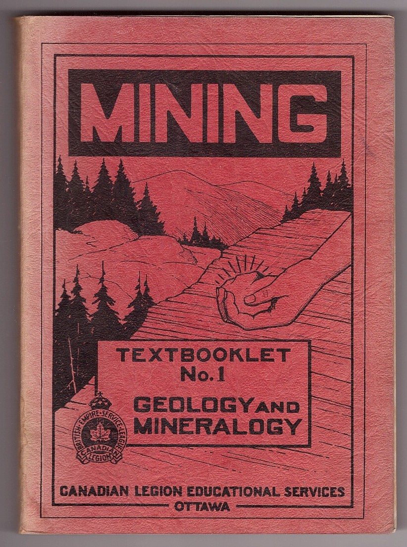 Image for Mining; Geology and Mineralogy, Textbooklet No. 1