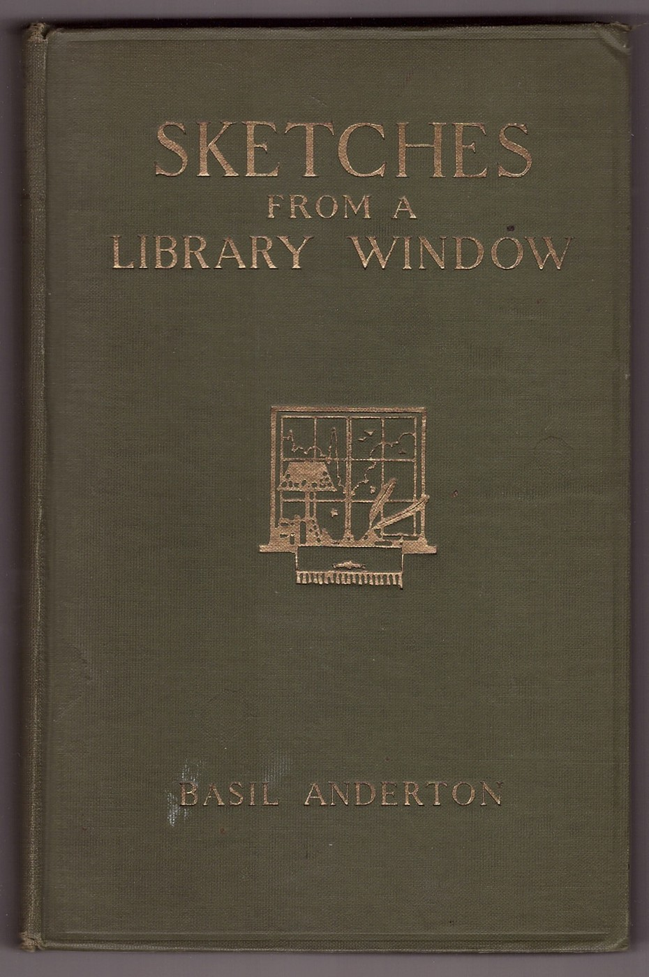 Image for SKETCHES FROM A LIBRARY WINDOW