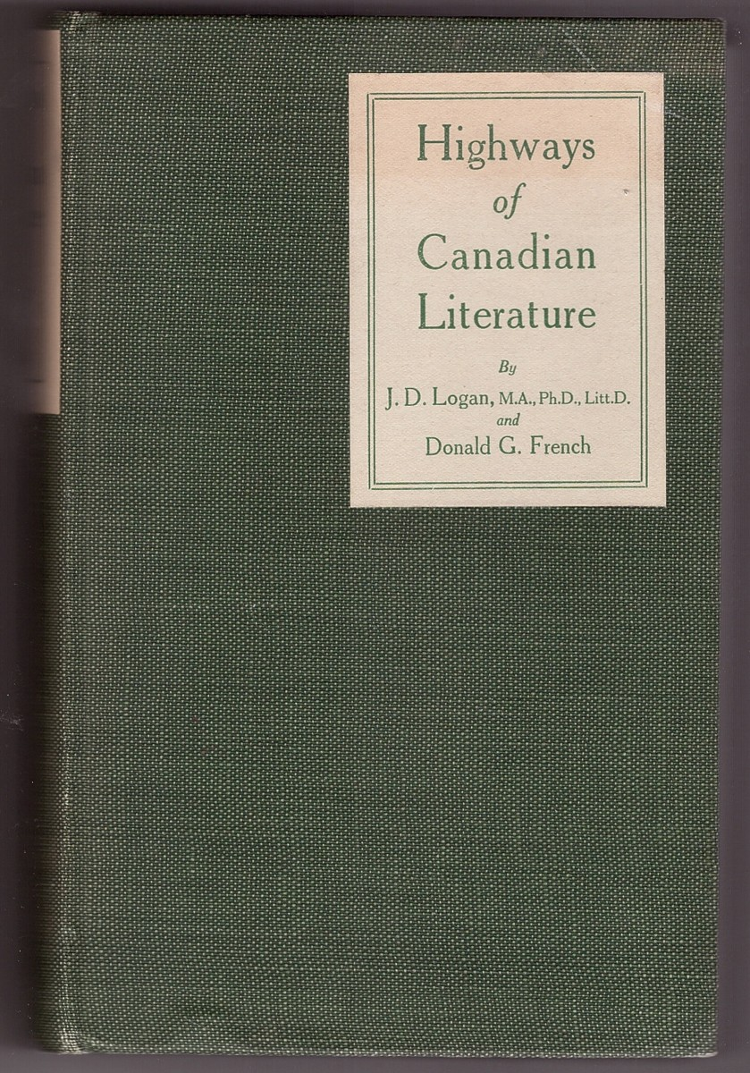 Image for Highways of Canadian Literature