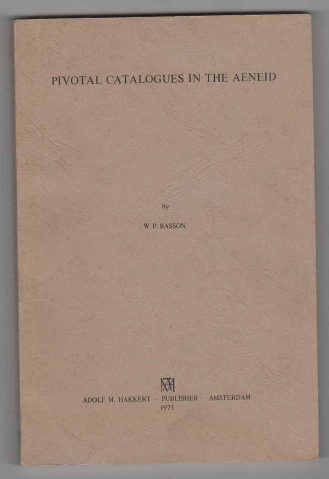 Image for Pivotal Catalogues in the Aeneid