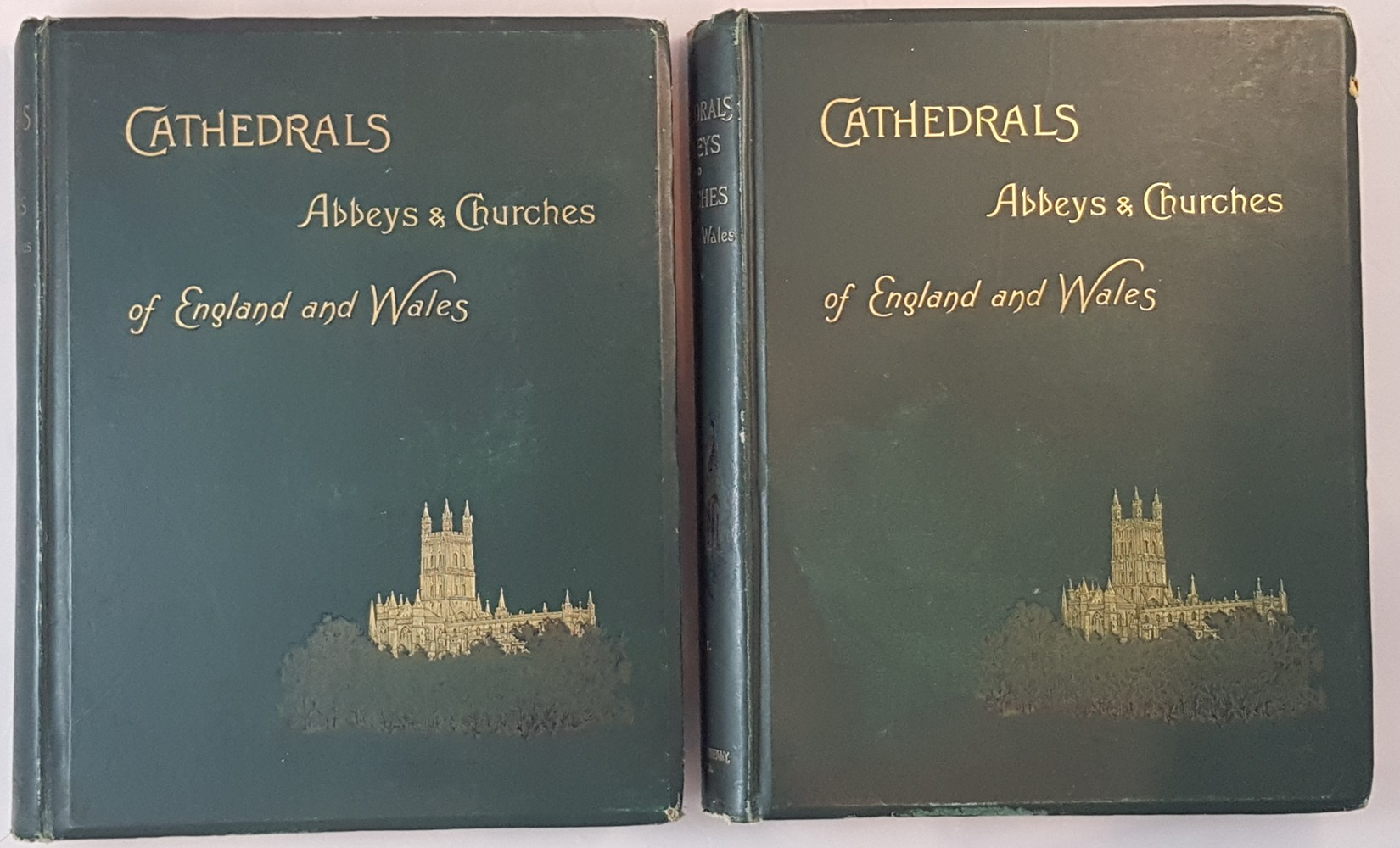 Image for CATHEDRALS, ABBEYS, AND CHURCHES OF ENGLAND AND WALES; Descriptive, Historical, Pictorial 2 vols