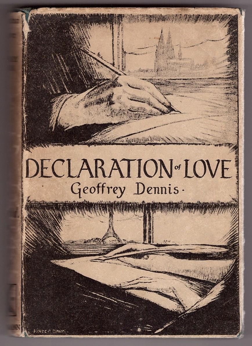 Image for Declaration of Love  Undiplomatic Correspondence Between Paris and Berlin