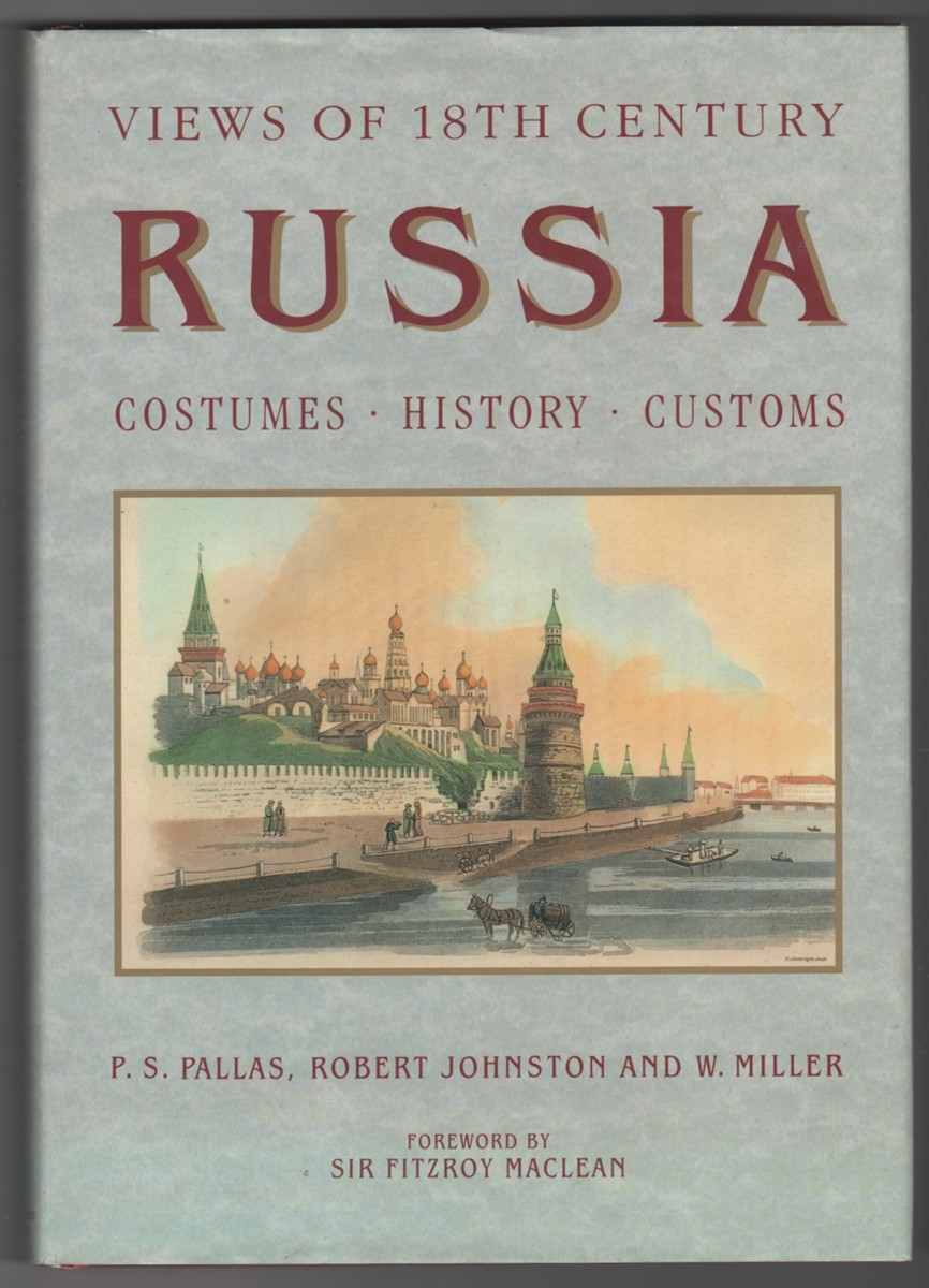 Image for Views of 18th Century Russia; Costumes, Customs, History