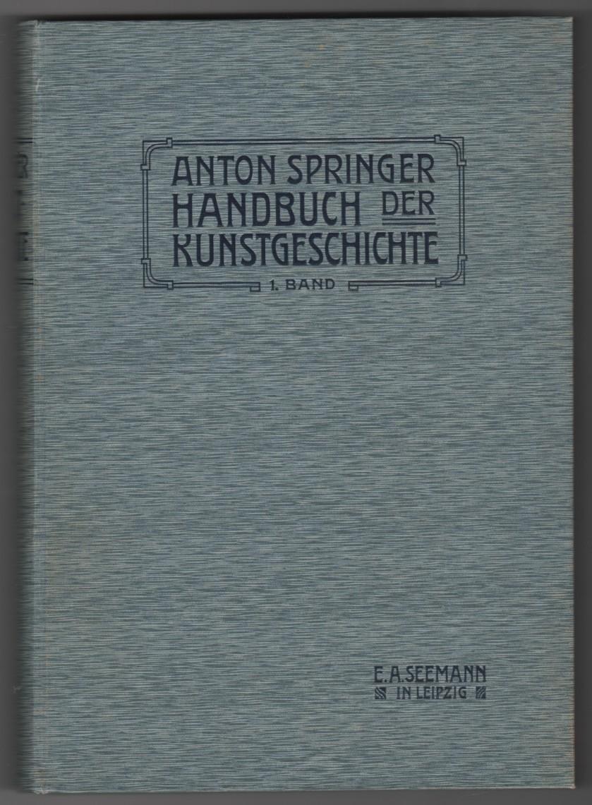 Image for Handbuch der Kunstgeschichte - Volume I  Das Altertum