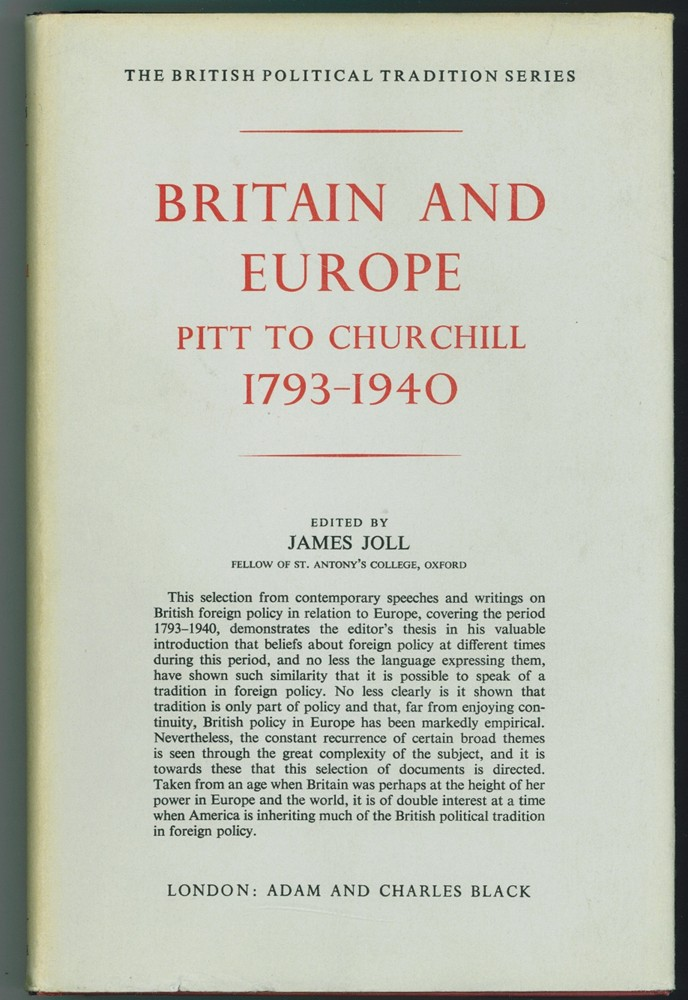 Image for Britain and Europe  Pitt to Churchill, 1793-1940
