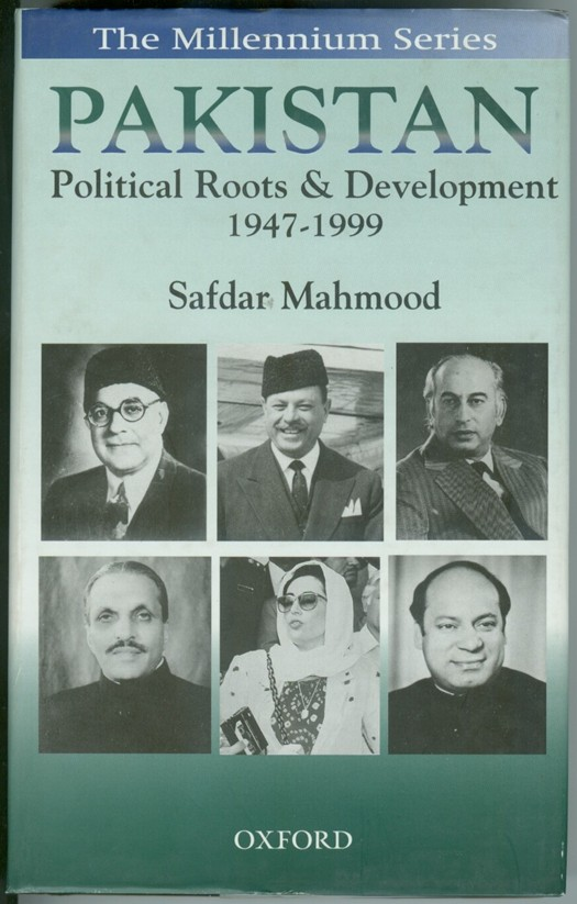Image for Pakistan  Political Roots and Development 1947-1999