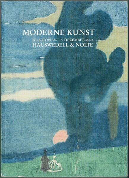Image for Moderne Kunst  des 19. und 20. Jahrhunderts : Auktion 369