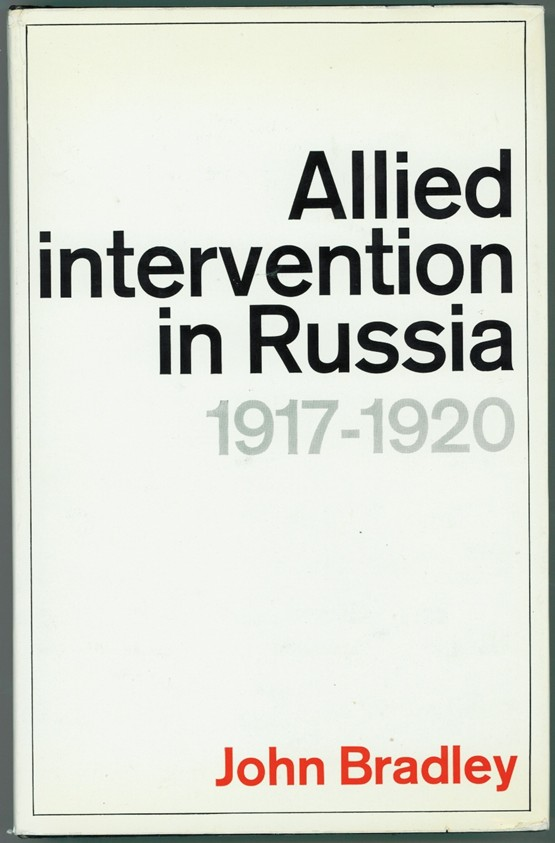 Image for Allied Intervention in Russia, 1917-20