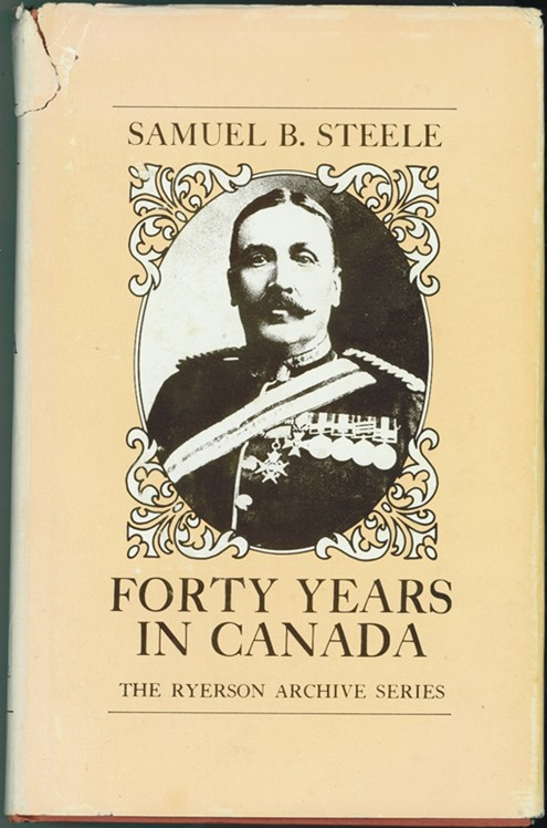Image for Forty Years in Canada  Reminiscences of the great North-West with some account of his service in South Africa