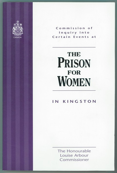 Image for Commission of Inquiry into Certain Events at the Prison for Women in Kingston