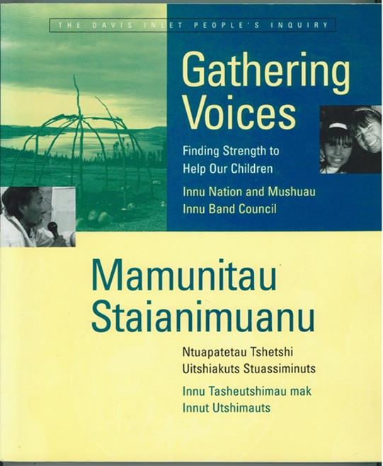 Image for Gathering Voices / Mamunitau Staianimuanu  Finding Strength to Help Our Children