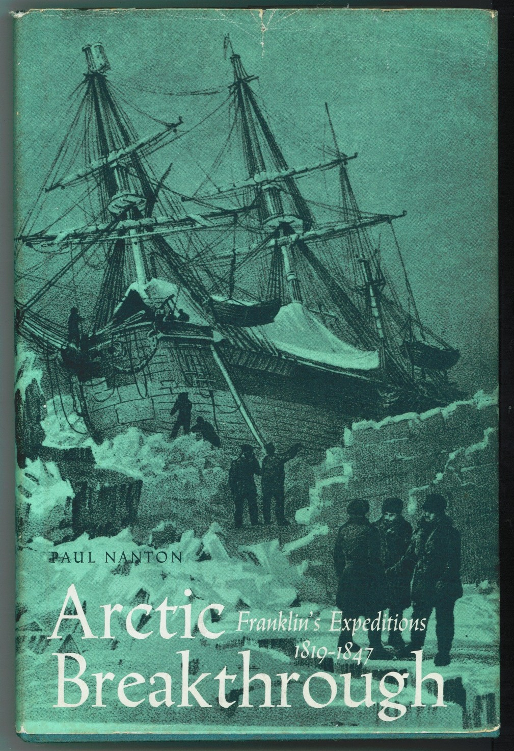 Image for Arctic Breakthrough  Franklin's Expeditions, 1819-47