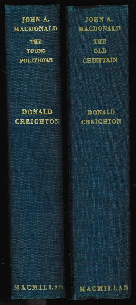 Image for John A. MacDonald (2 volumes)  The Young Politician, The Old Chieftain