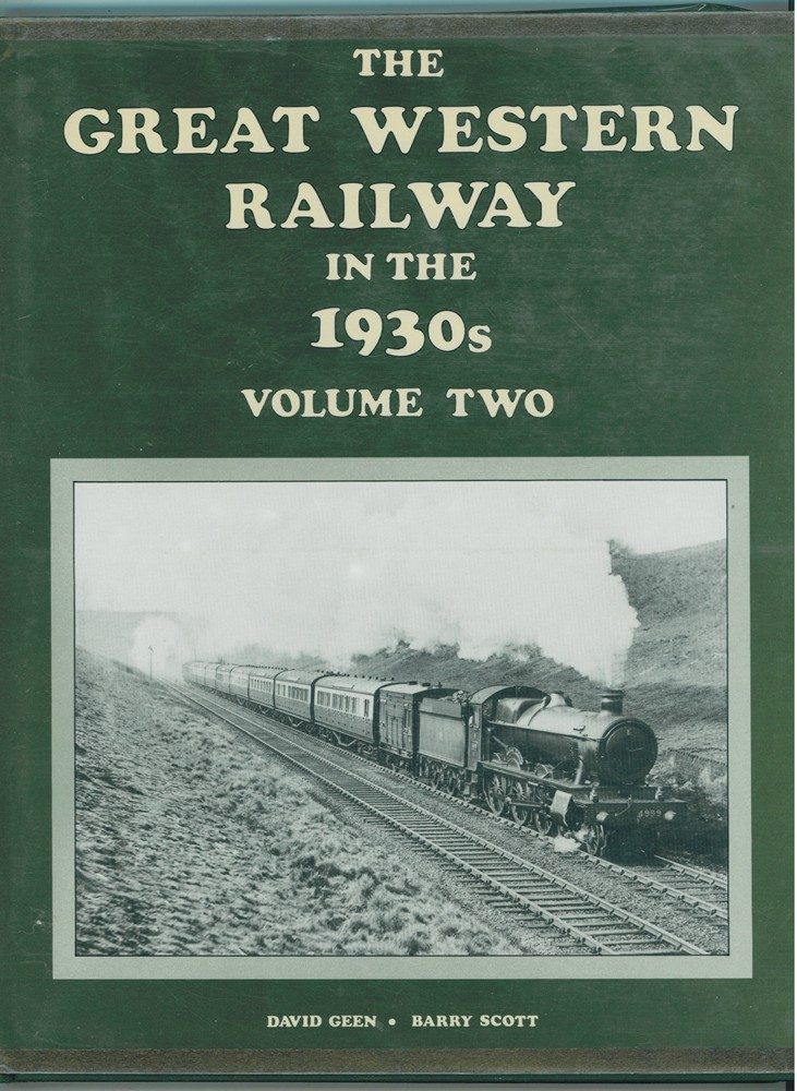 Image for The Great Western Railway in the 1930's - Vol. 2