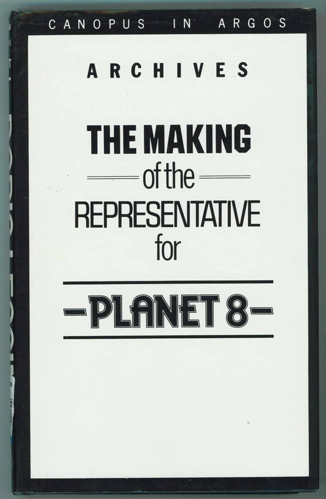 Image for The Making of the Representative for Planet 8