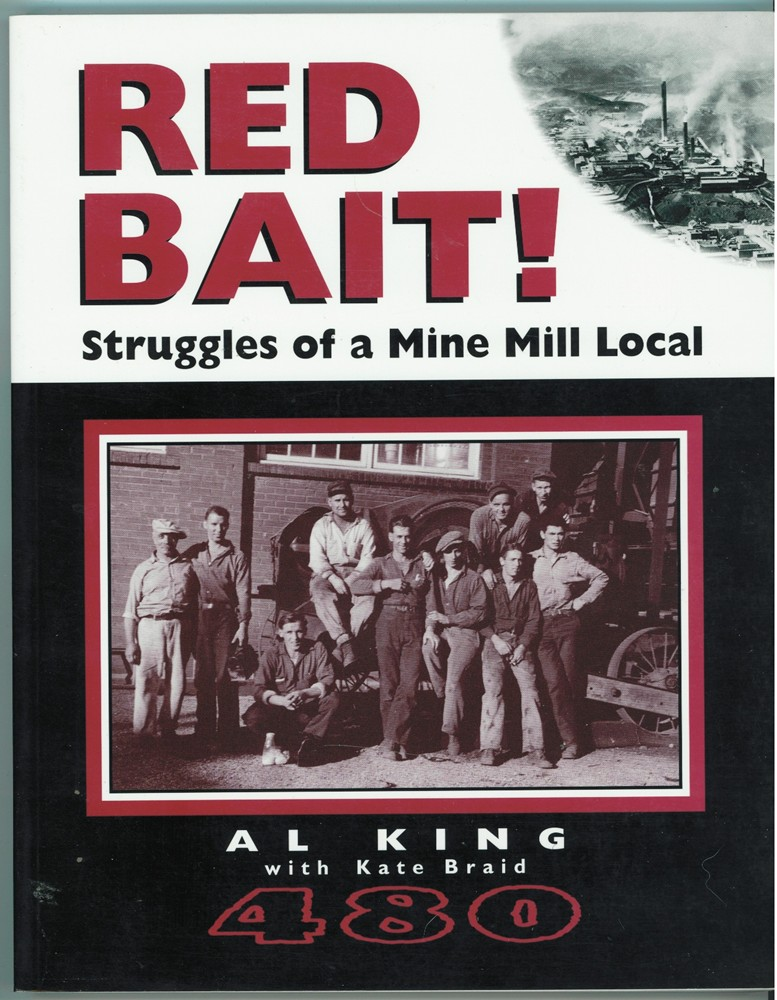Image for Red bait!  Struggles of a Mine Mill Local