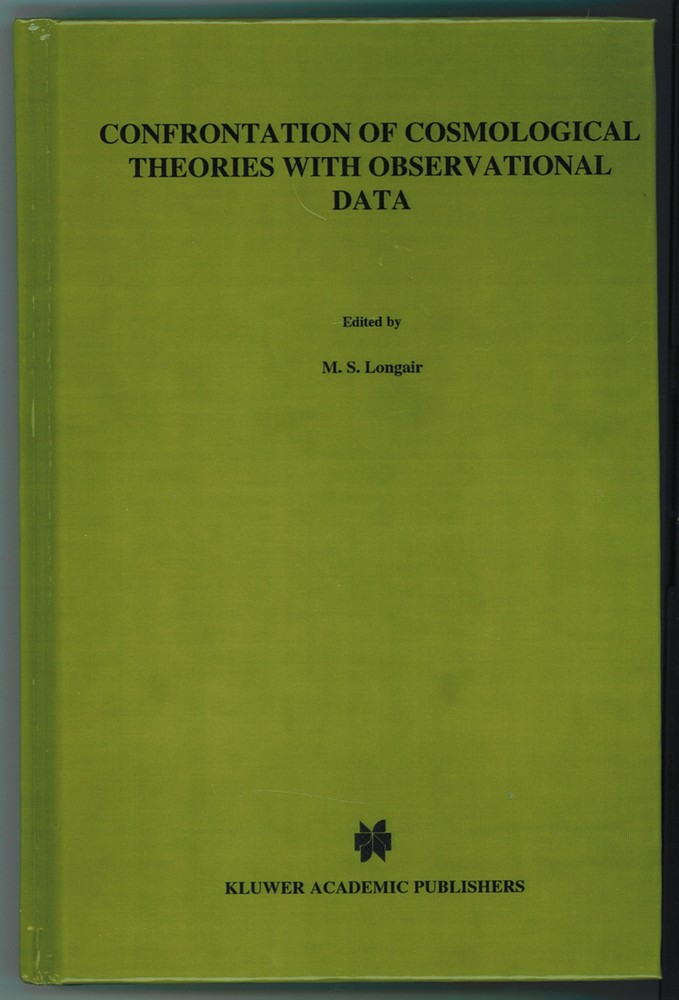 Image for Confrontation of Cosmological Theories with Observational Data