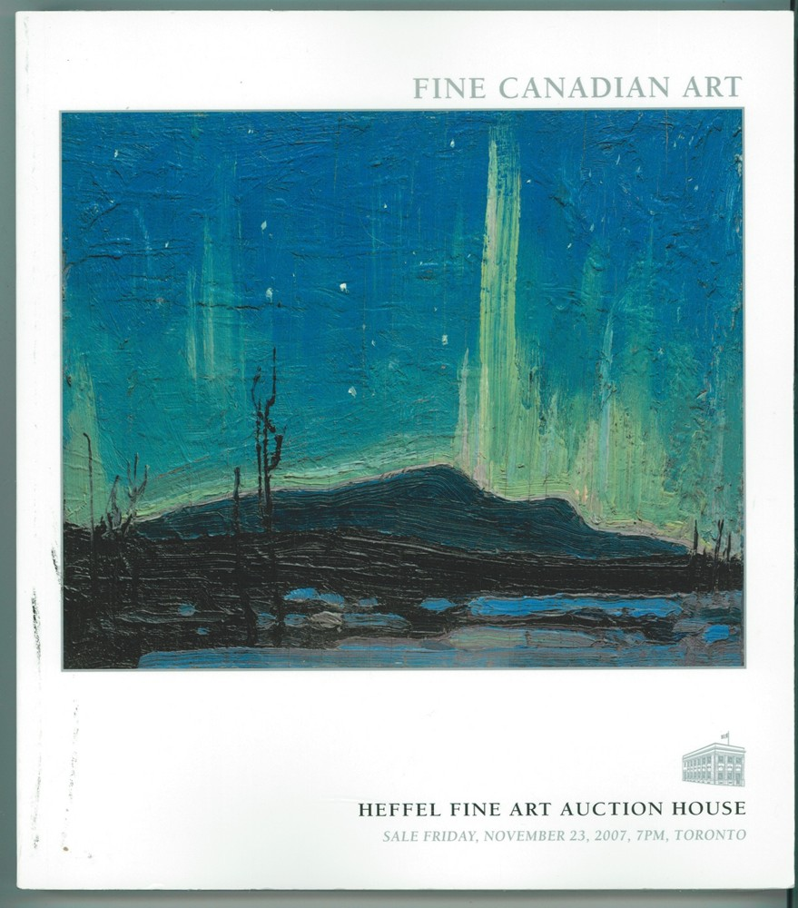 Image for Fine Canadian Art - Friday November 23, 2007,  Toronto