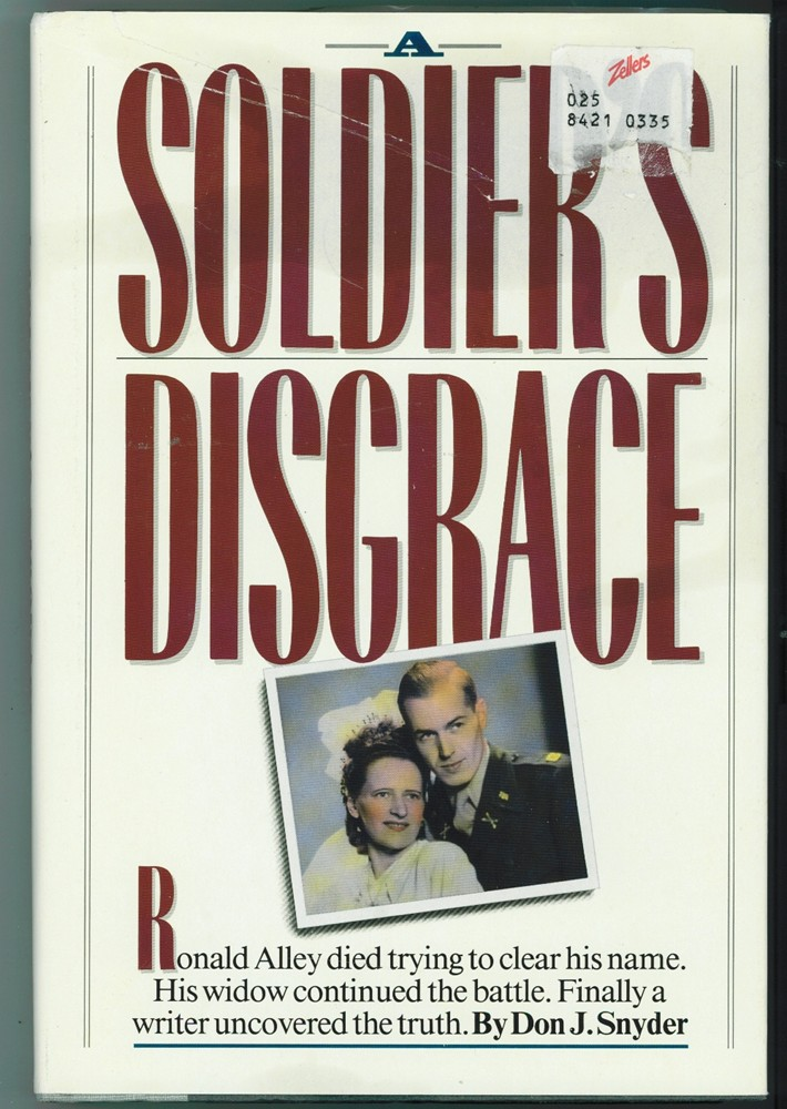 Image for A Soldier's Disgrace
