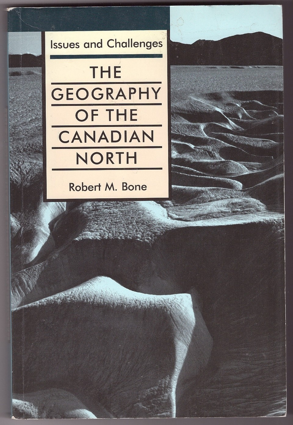 Image for The Geography of the Canadian North  Issues and Challenges