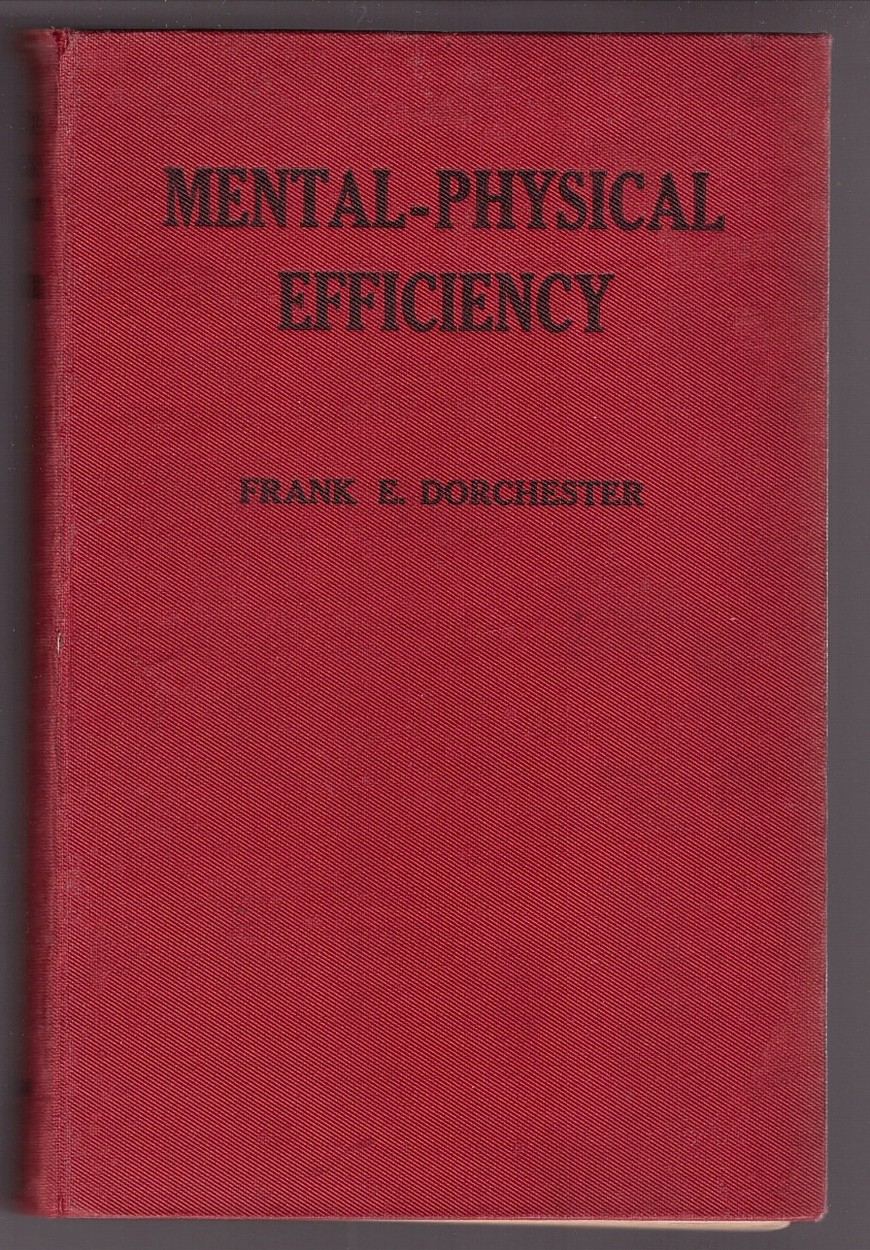 Image for MENTAL-PHYSICAL EFFICIENCY