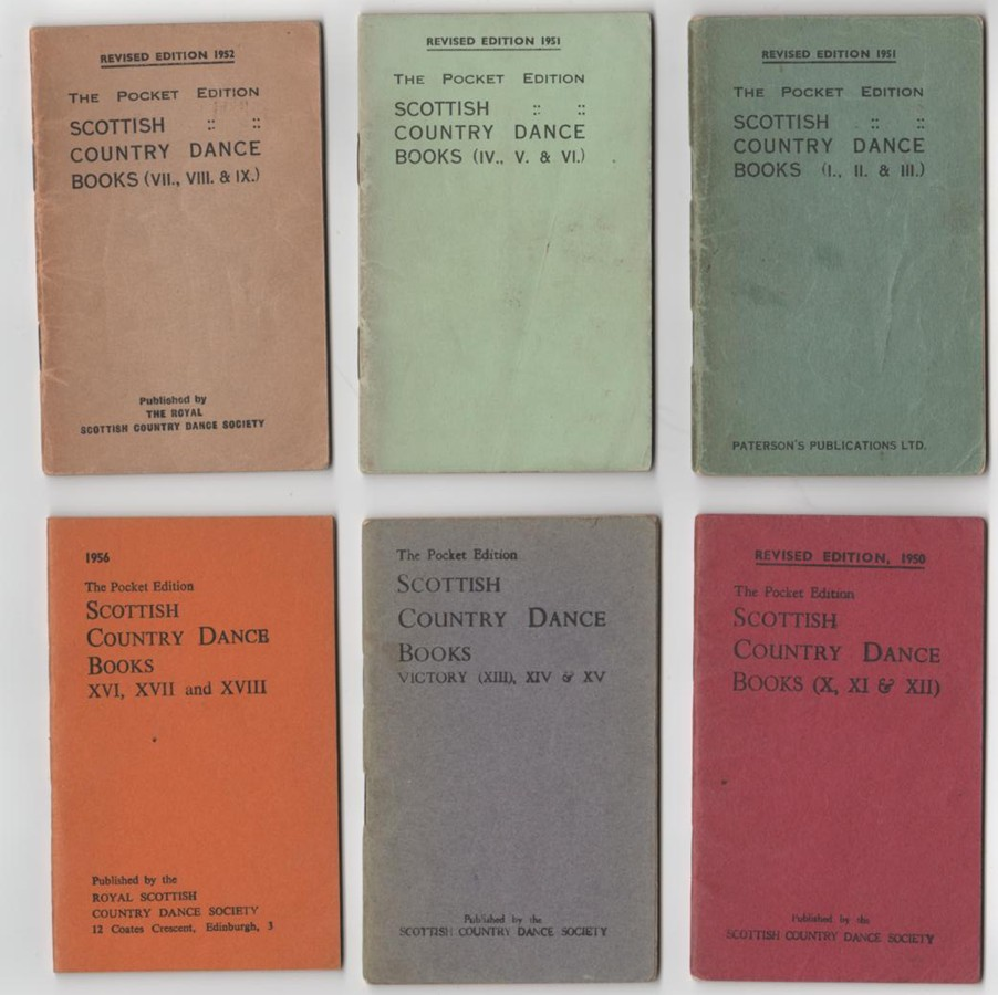 Image for The Scottish Country Dance Book - Volumes 1-6