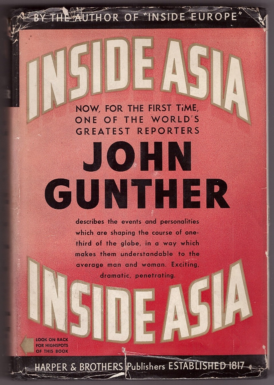 Image for Inside Asia