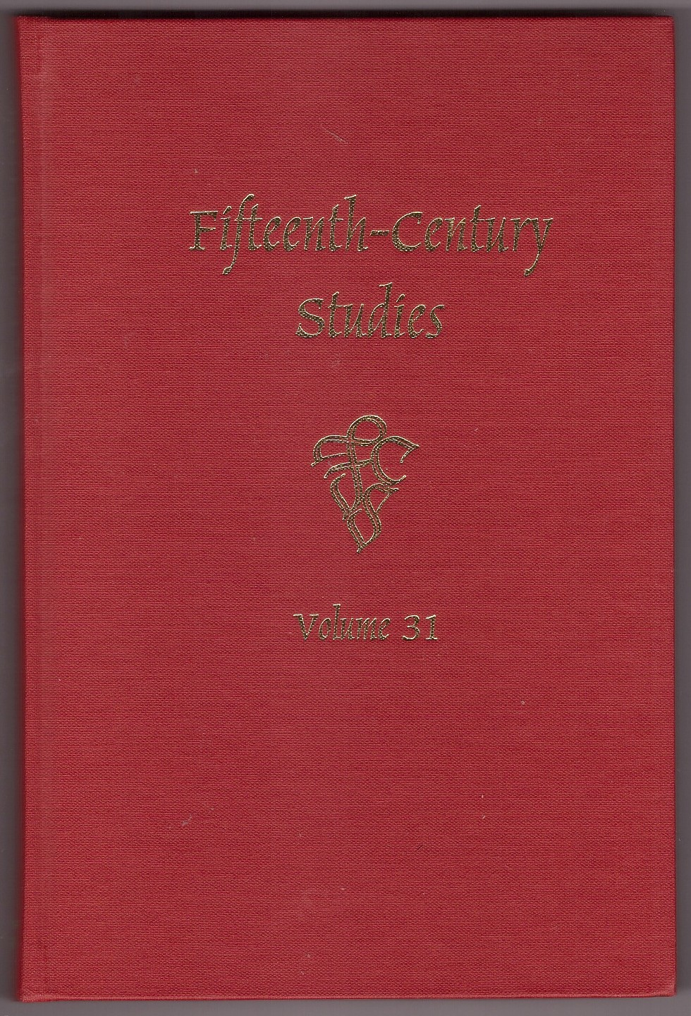 Image for Fifteenth-Century Studies Vol. 31