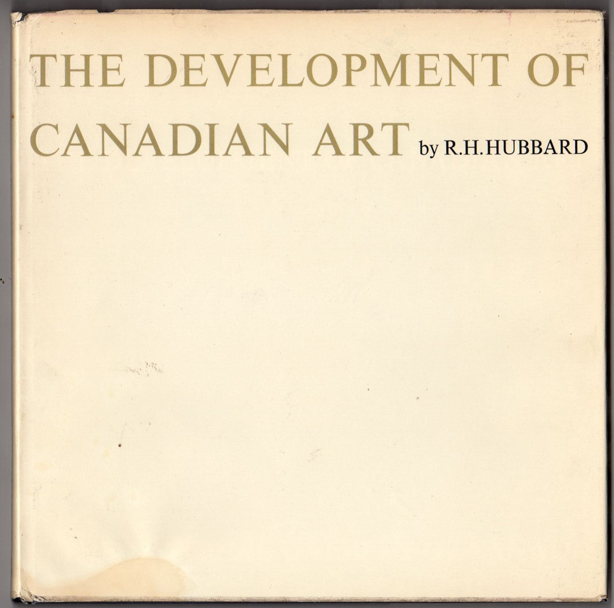 Image for The Development of Canadian Art