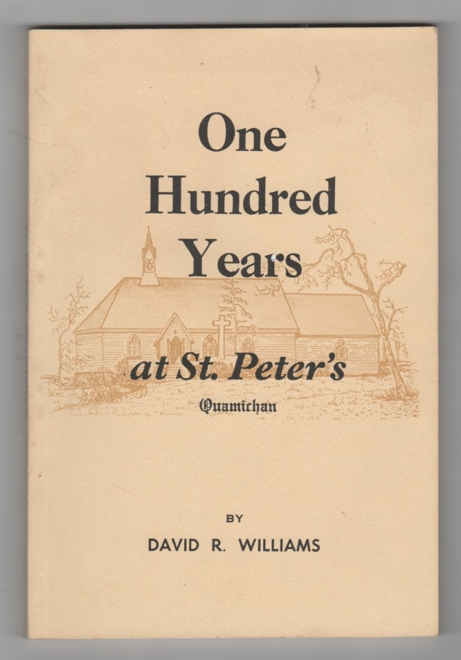 Image for One Hundred Years at St. Peter's Quamichan