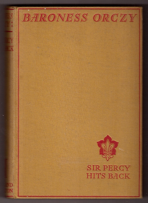 percy scarlet pimpernel