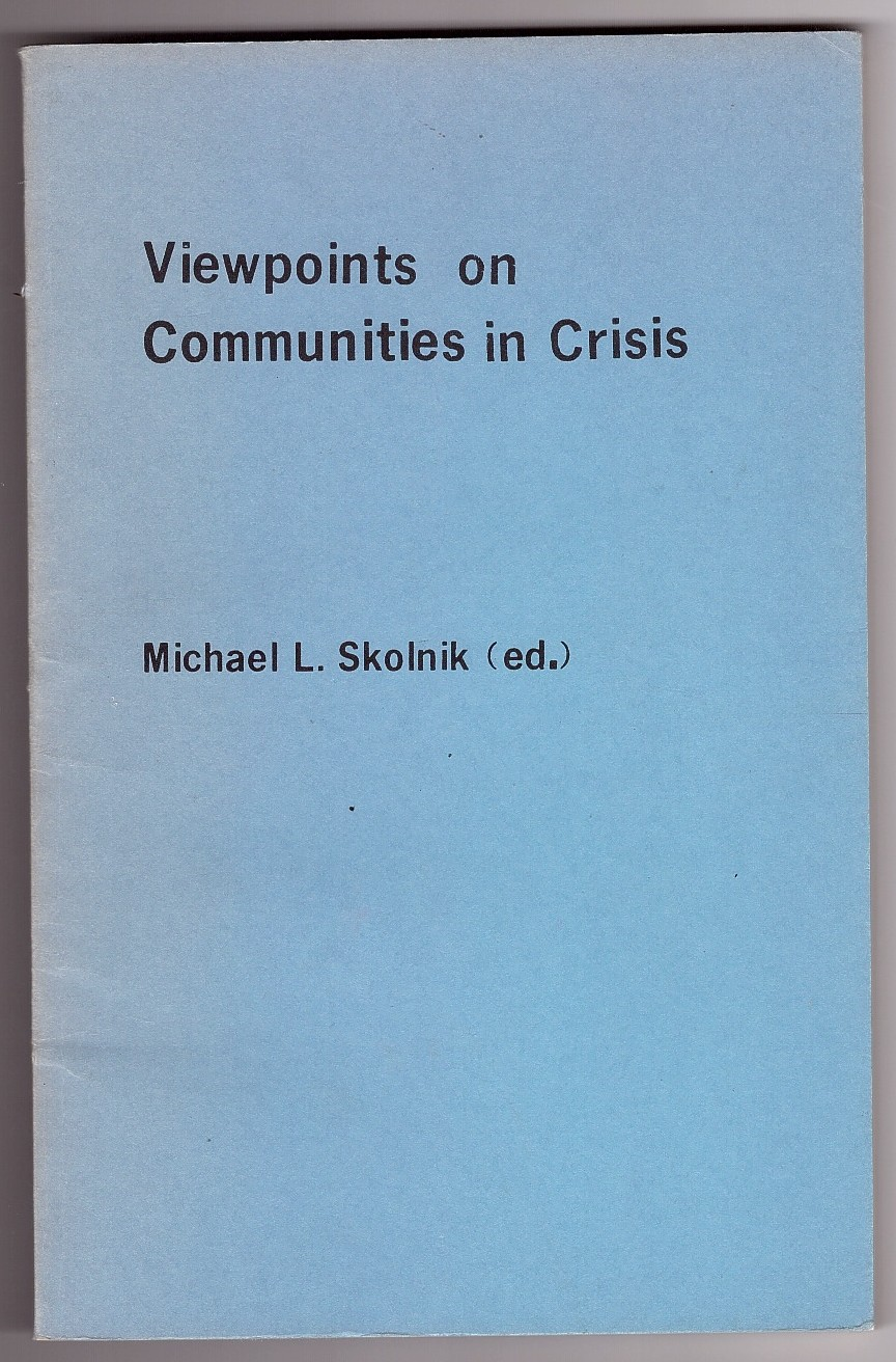 Image for Viewpoints on Communities in Crisis