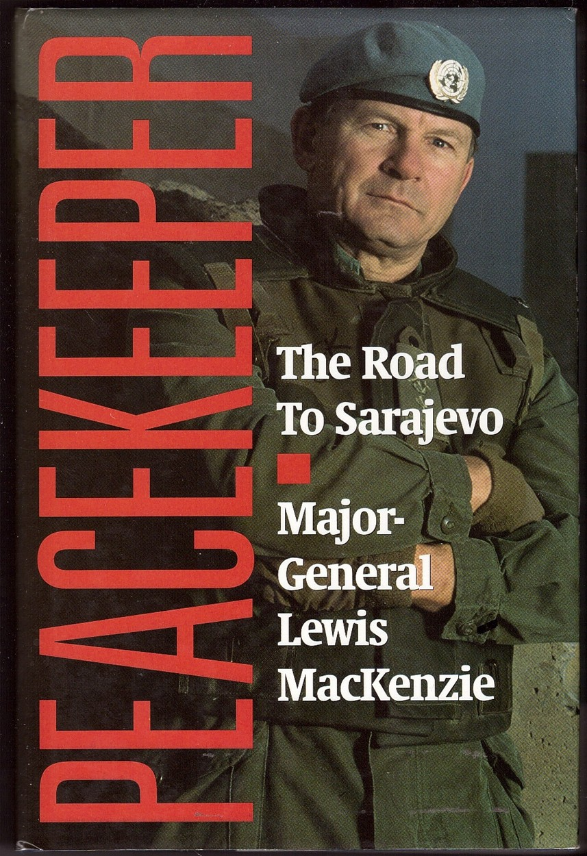 Image for Peacekeeper  The Road to Sarajevo