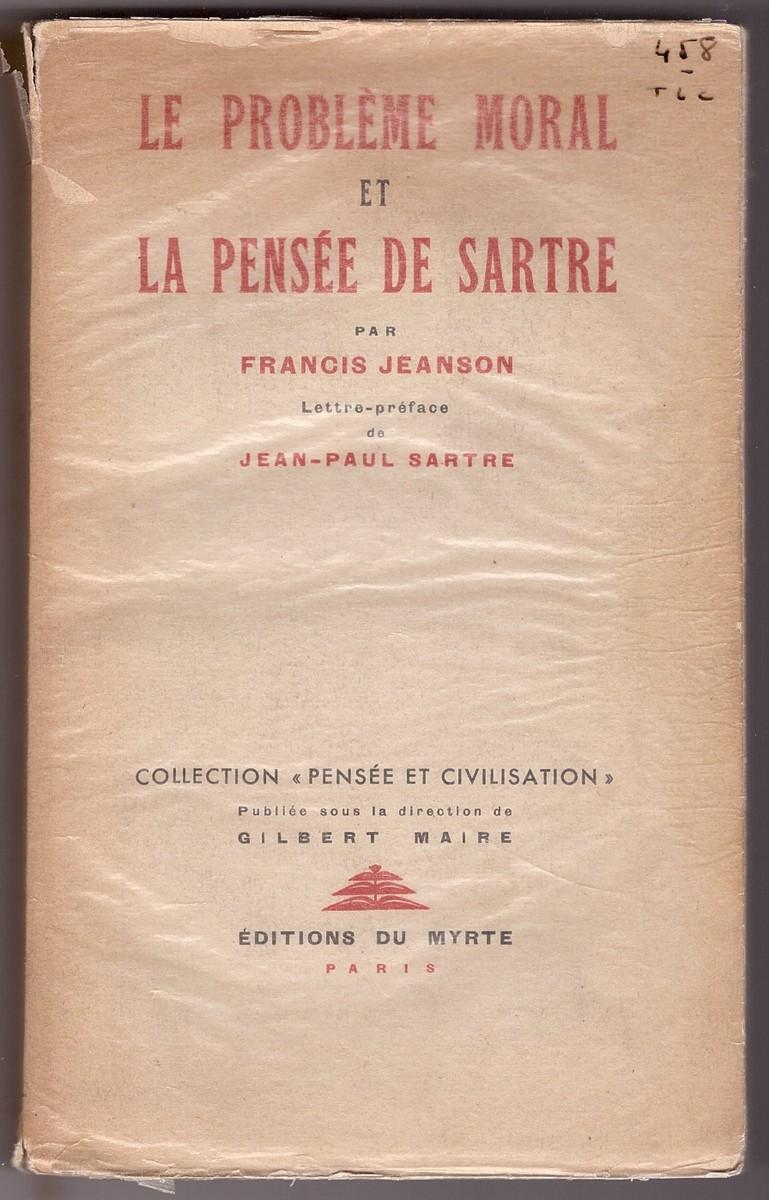 Image for Le Problème Moral et la pensée de Sartre