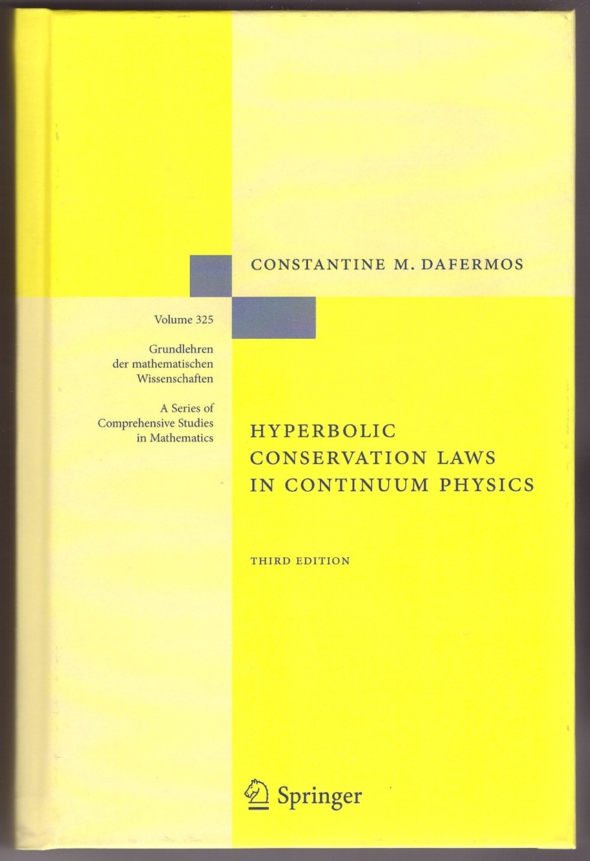 Image for Hyperbolic Conservation Laws in Continuum Physics