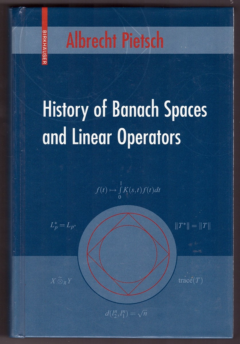 Image for History of Banach Spaces and Linear Operators