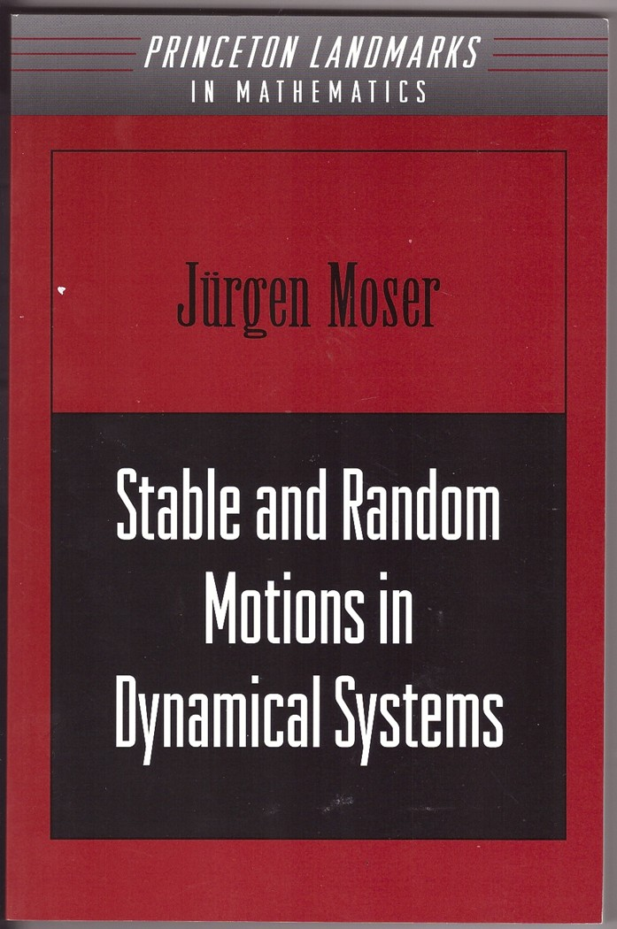Image for Stable and Random Motions in Dynamical Systems  With Special Emphasis on Celestial Mechanics   (Princeton Landmarks in Mathematics and Physics)