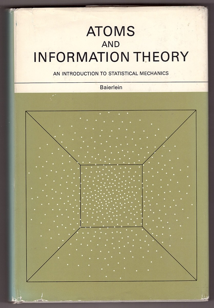 Image for Atoms and Information Theory An Introduction to Statistical Mechanics