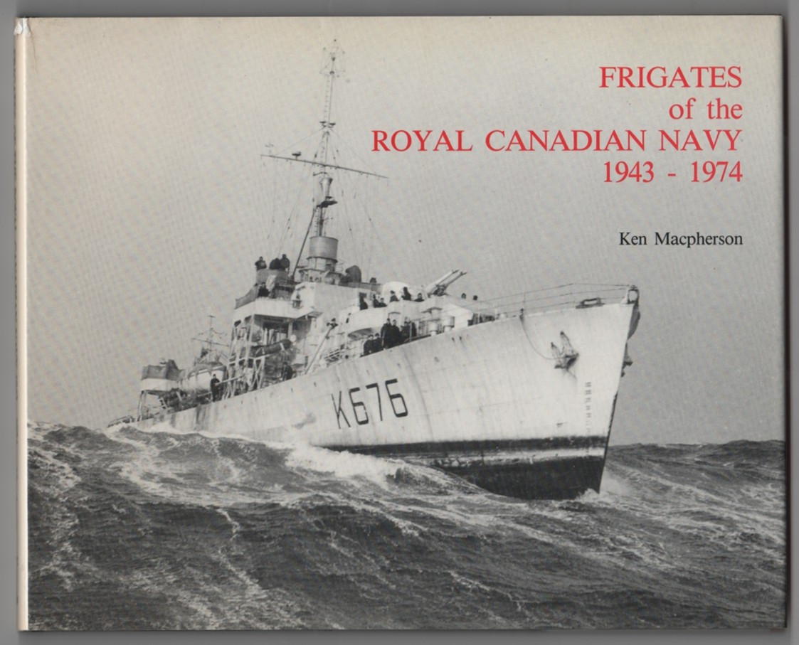 Image for Frigates of the Royal Canadian Navy  1943-1974