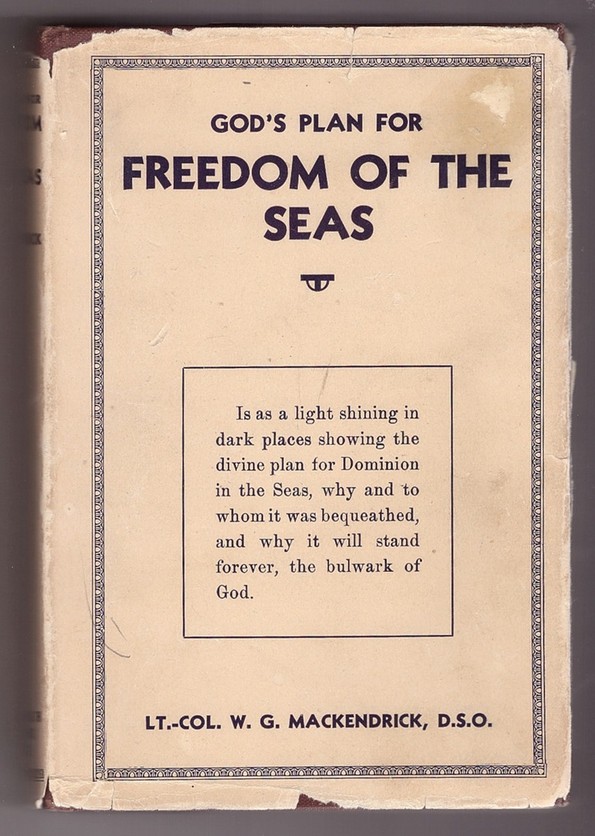 Image for God's Plan for Freedom of the Seas