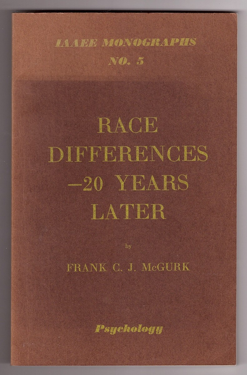 Image for Race Differences - 20 years later