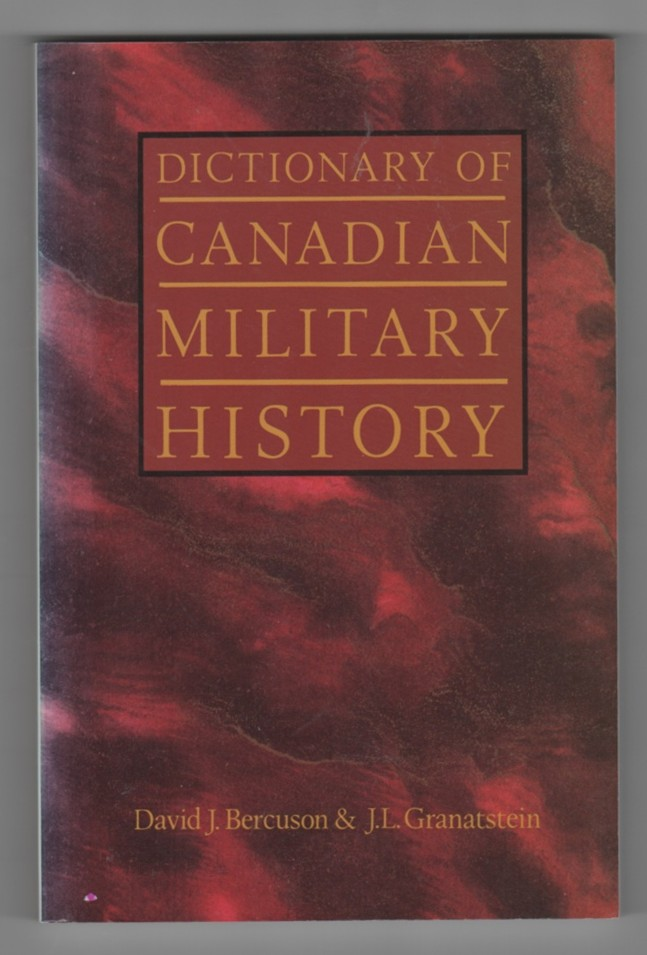 Image for Dictionary of Canadian Military History