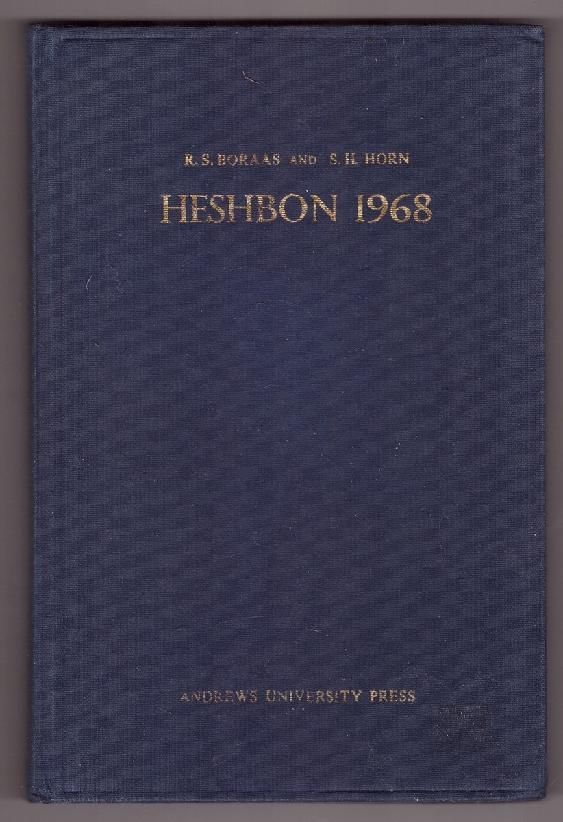 Image for Heshbon 1968  The First Campaign at Tell Hesban