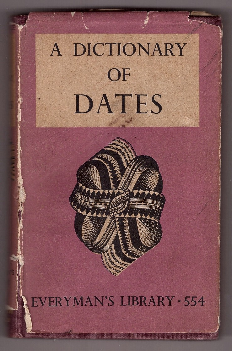 Image for Everyman's Library,a Dictionary of Dates